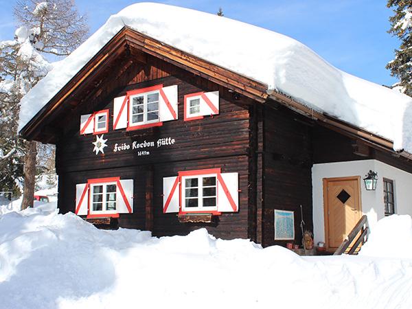 Frido Kordon Hütte - Winter