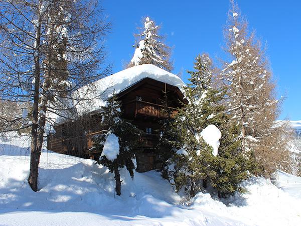 Sonnalm Hütte - Winter