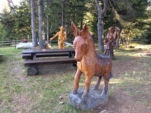 Frido Kordon Hütte - Skulpturenpark